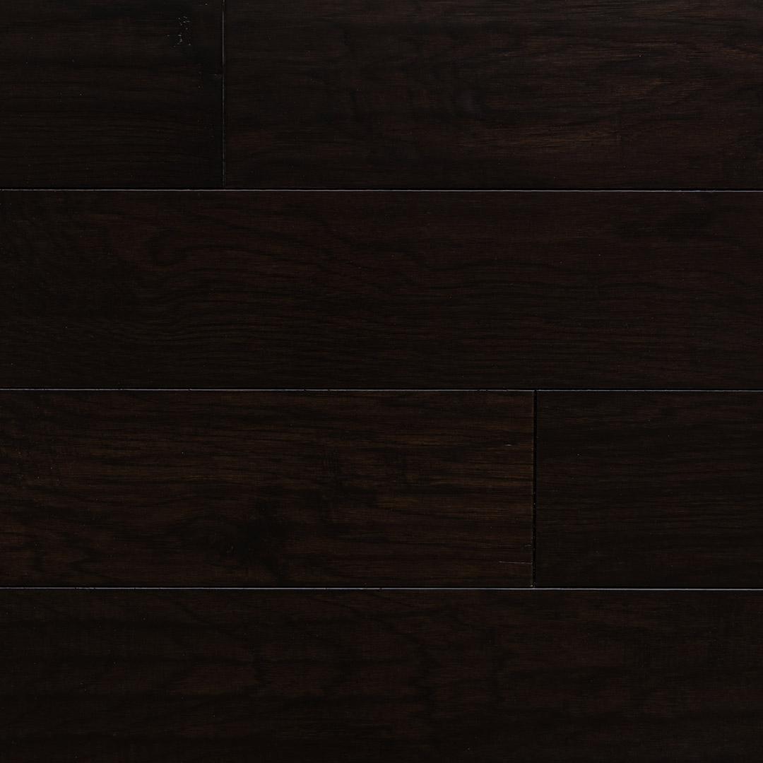 "The Ultimate Guide To Understanding Engineered Wood Floors: Hickory Dark Chocolate 5"" Engineered Hardwood Flooring"