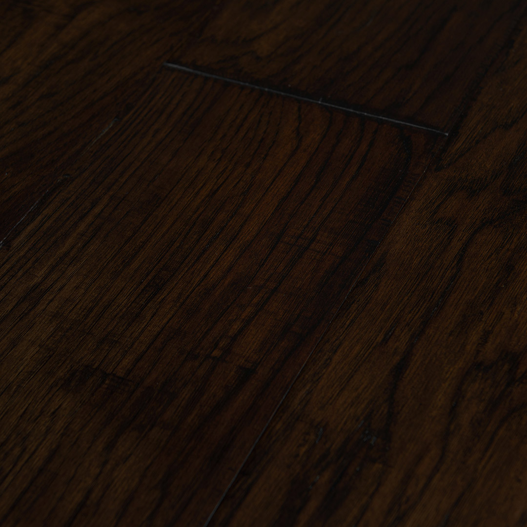 Hickory Dark Brown 6 189 Engineered Hardwood Flooring