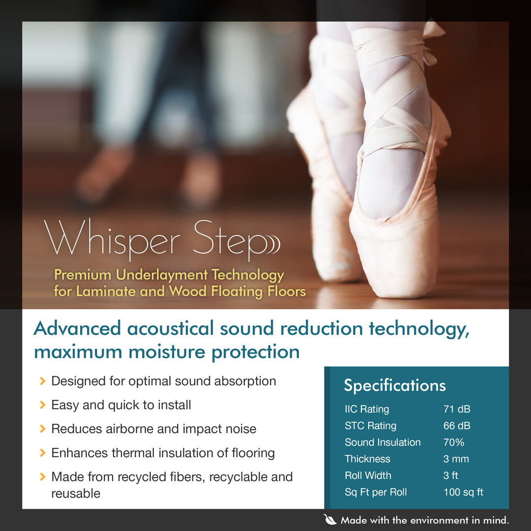 Whisper Step Padding | Modern Home Concepts