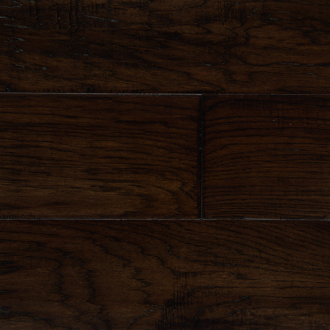 Hickory Dark Brown 6½ Engineered Hardwood Flooring Modern